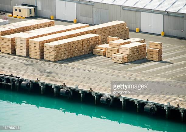Madeira para exportação