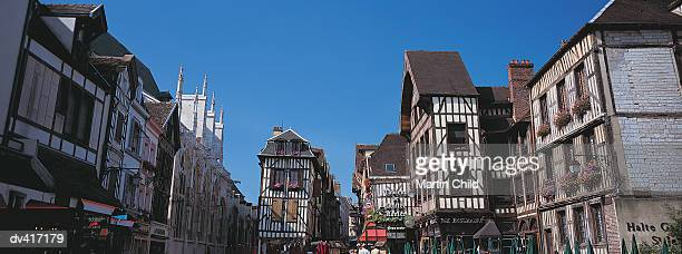 Timber Framed Buildings, Troyes, France