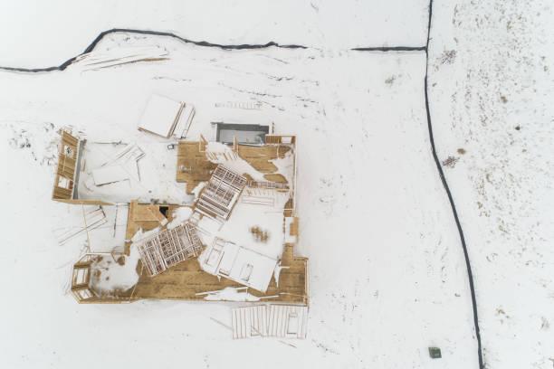 Timber Framed Home Under Construction