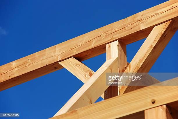 legname costruzione a telaio - intelaiatura foto e immagini stock