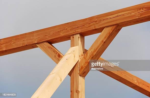 Bauholz-frame-Konstruktion