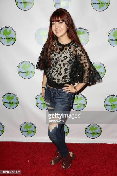 TimbreLee Alexis attends Tehran Von Ghasri and Isaak Presley host #Team1rhr Unity Event at Live House on January 12 2019 in Los Angeles California