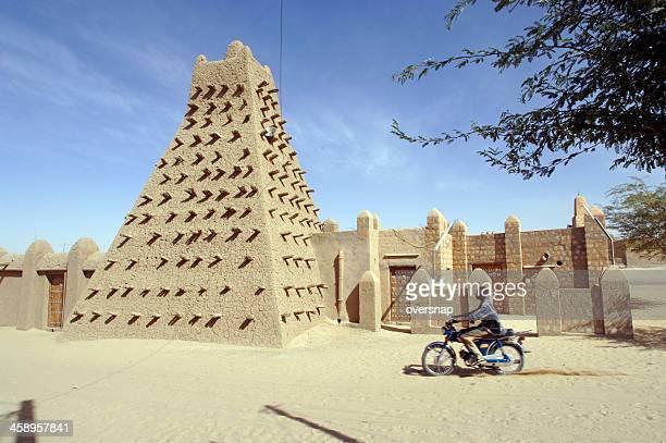 timbuktu mesquita - mesquita - fotografias e filmes do acervo