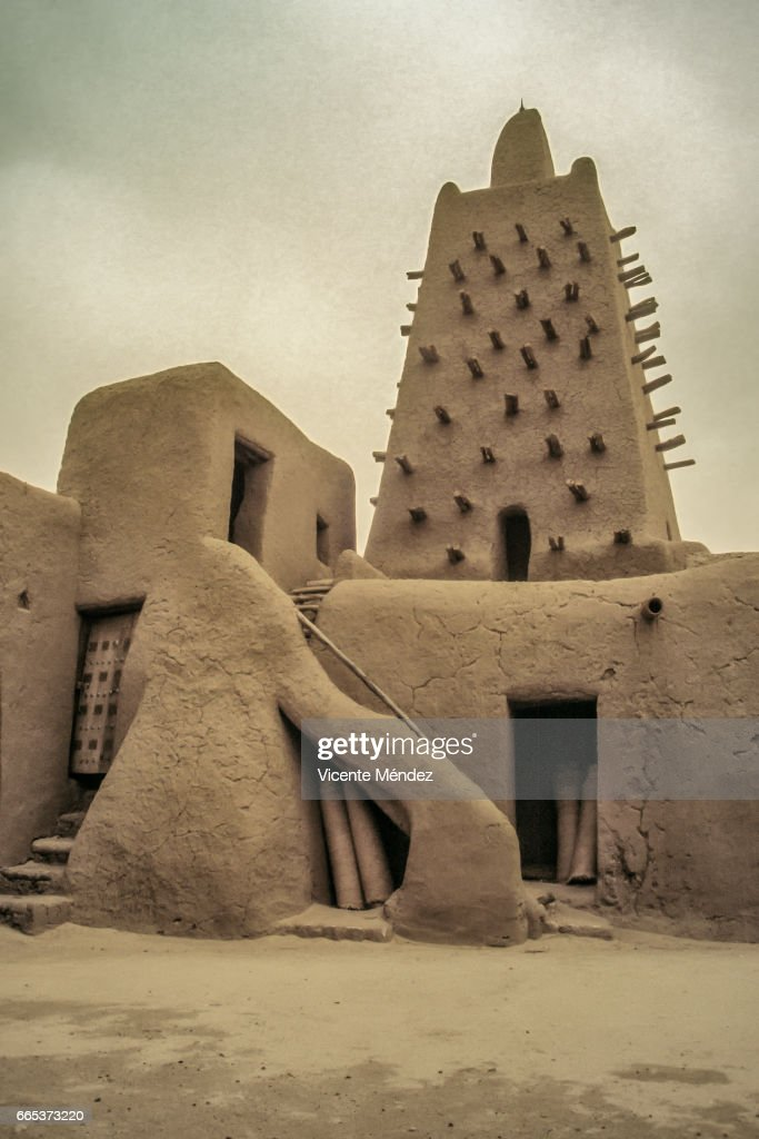 Timbuktu Mosque (Mali) : Stock Photo