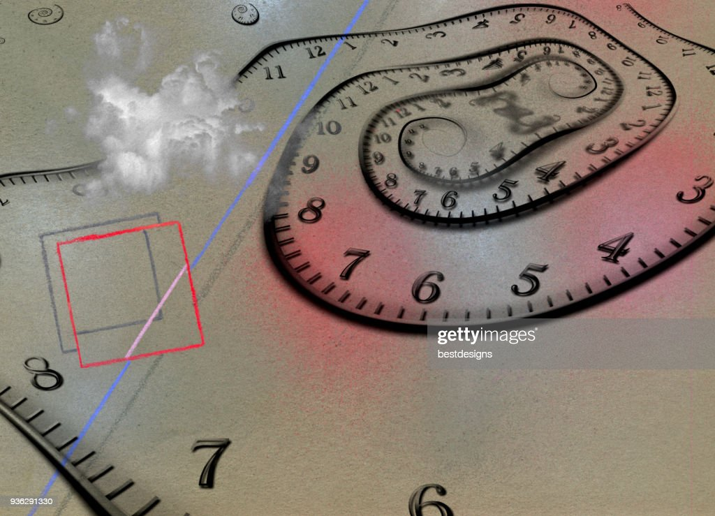 Time Abstract : Stock Photo