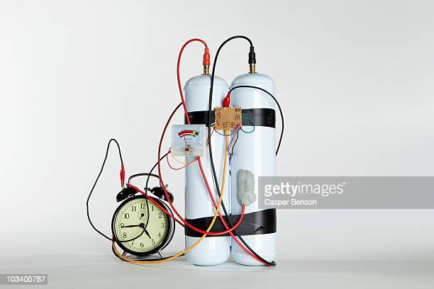 a time bomb - detonator stock photos and pictures