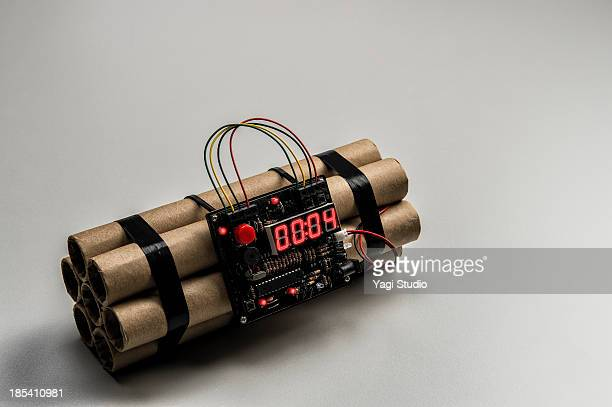 a time bomb - explosives stock photos and pictures