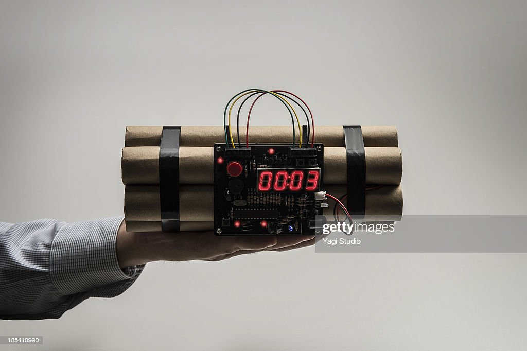 A time bomb : Stock Photo