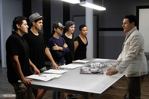 COLLECTION 'Time Capsule' Episode 104 Pictured Contestants Eduardo de las Casas David Caldwell Rolando 'Ro' Tamez Dominique Pearl David Calvin Tran...