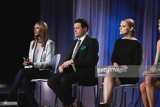 "Time Capsule"" Episode 104 -- Pictured: Judges Iman, Isaac Mizrahi, Laura Brown"