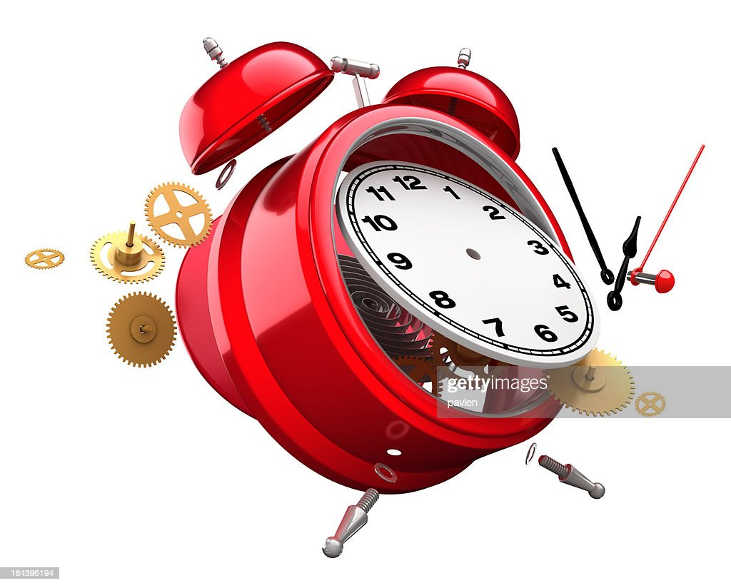 Time explosion : Stock Photo