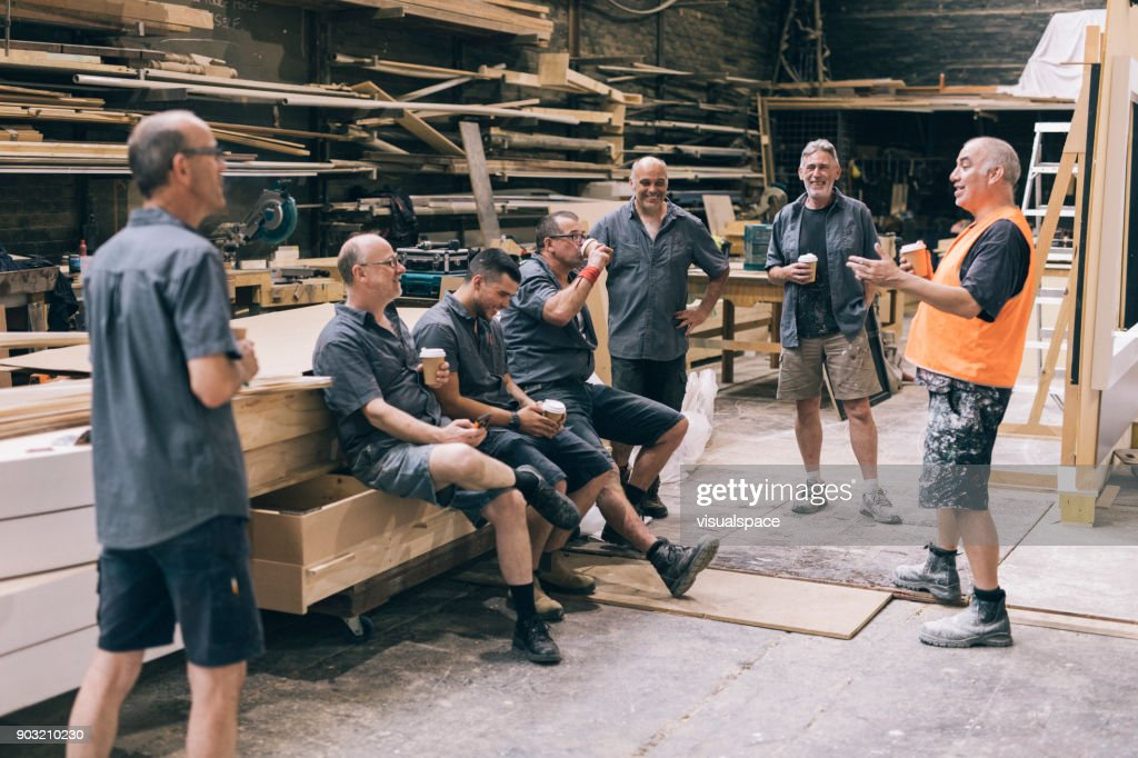 Time for a coffee break : Stock Photo