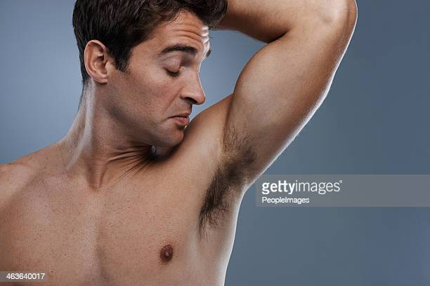 time for a shower! - male armpits stock pictures, royalty-free photos & images
