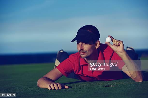 くつろぎの時間には、ゴルフボール