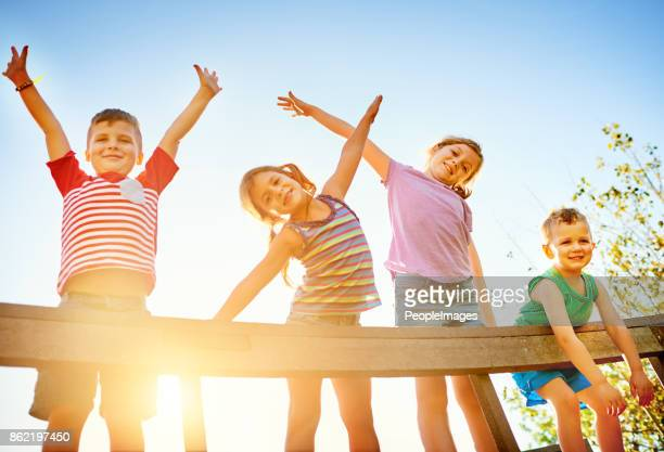 time for some endless fun in the sun - children only stock pictures, royalty-free photos & images