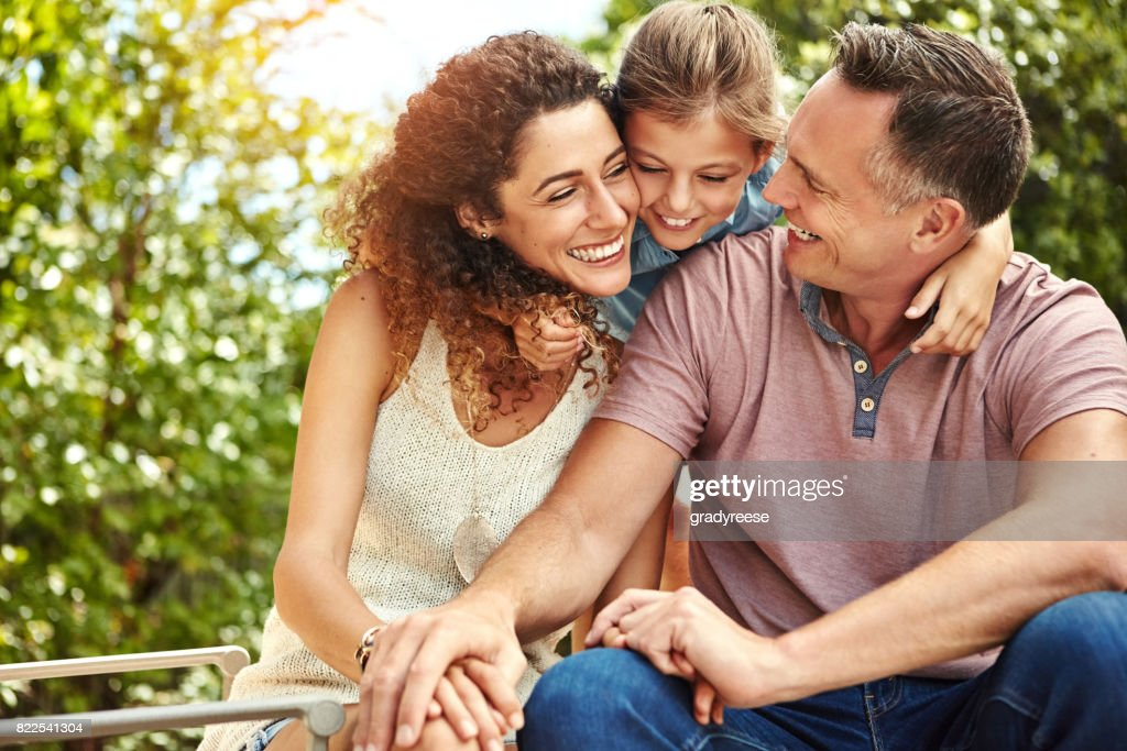 Time for some family love : Stock Photo