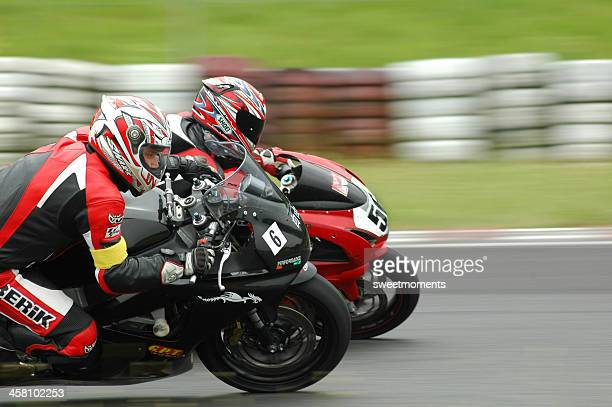 time for speed - motorcycle racing stock pictures, royalty-free photos & images