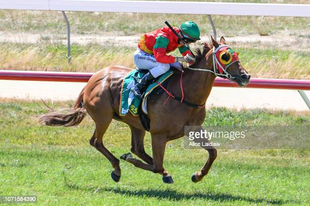 Time Ford ridden by Lewis German wins the Ord's Motorcycles BM58 Handicap at Ararat Racecourse on December 11 2018 in Ararat Australia