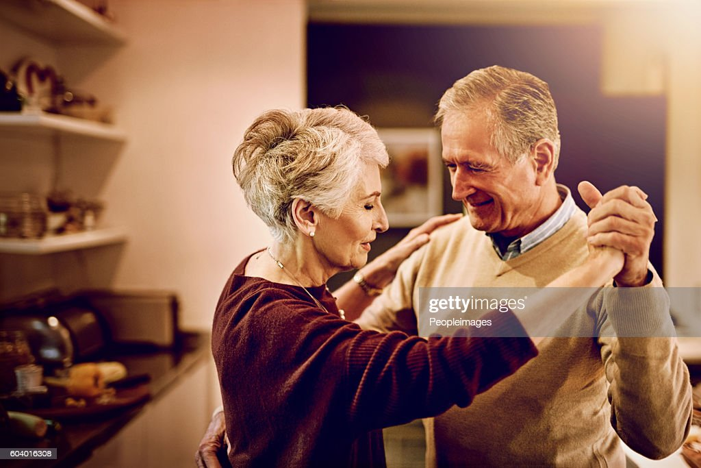 Time has shown them what really matters in life : Stock Photo