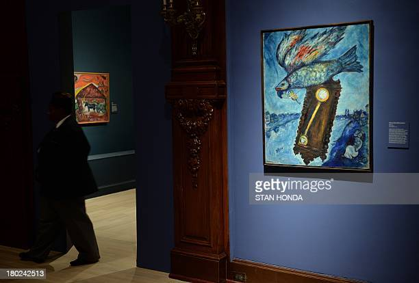 ROLANDO Time Is A River Without Banks 193039 By Artist Marc Chagall On Display