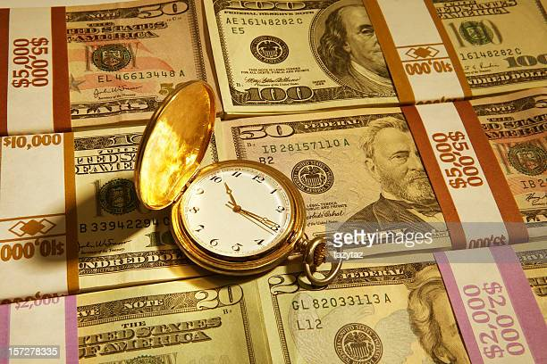 Time is Definitely Money (Gold Tone)