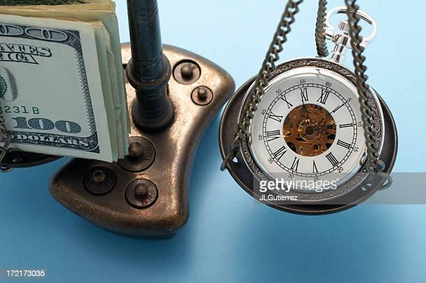 il tempo è denaro - ora legale foto e immagini stock