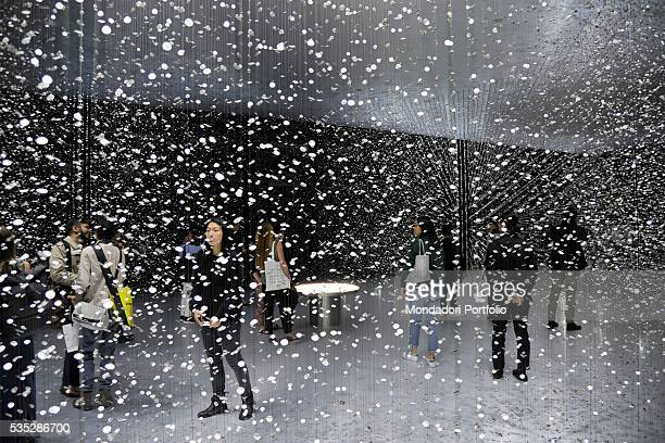 Time is Time an installation made by the Japanese brand Citizen in collaboration with the architect Tsuyoshi Tane at the Superstudio Più in via...