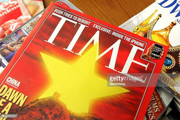 Time magazine published by Time Inc is arranged on a table in a public library in Chicago Illinois Thursday Jan 18 2007 Time Inc the publisher of...