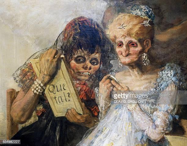Time or Las viejas 18101812 by Francisco de Goya oil on canvas 181x125 cm Spain 19th century Lilla Musée Des BeauxArts