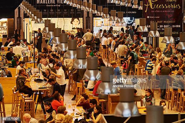 Time Out food market, Lisbon