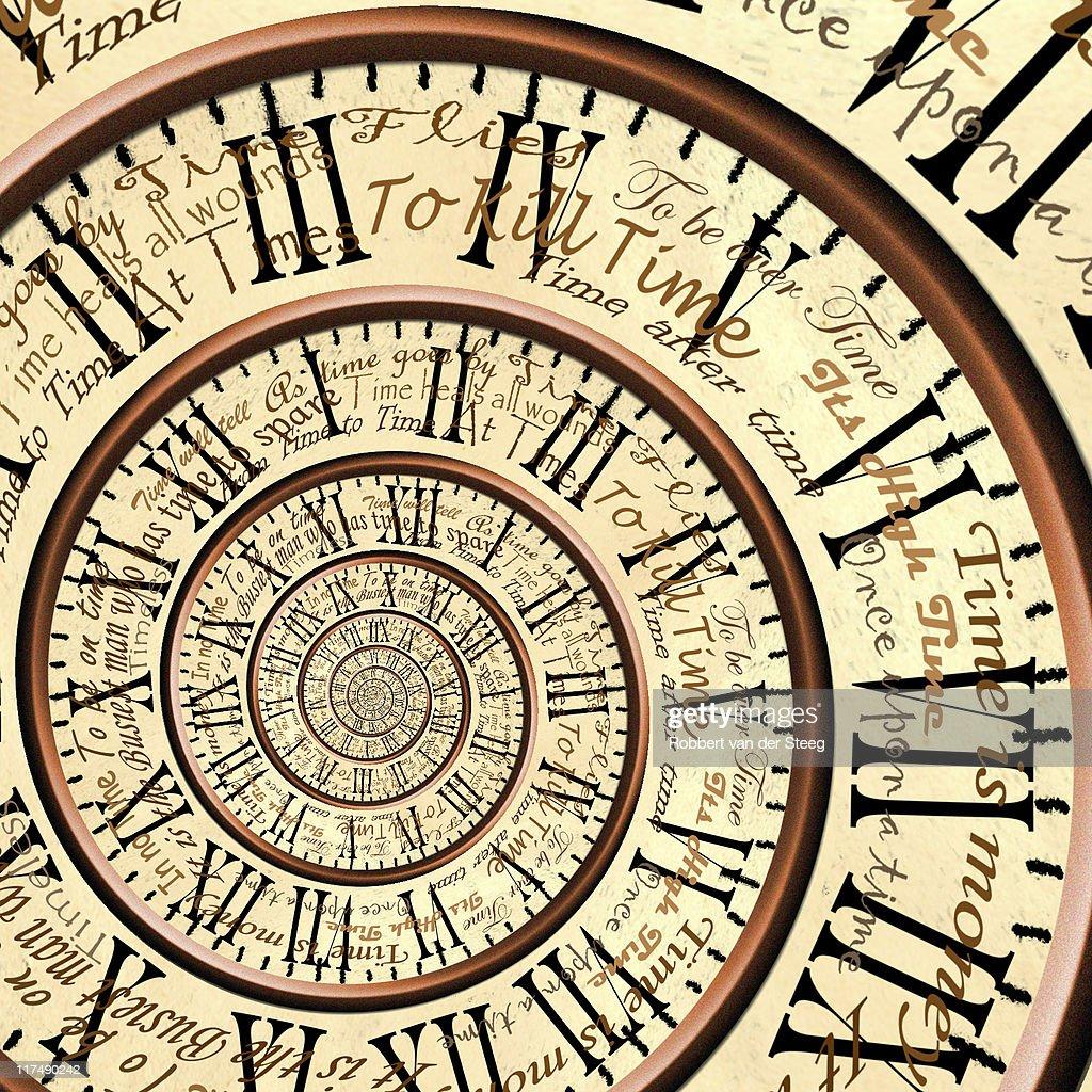 Time : Foto de stock