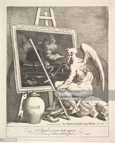 Time Smoking a Picture circa 1761 Artist William Hogarth