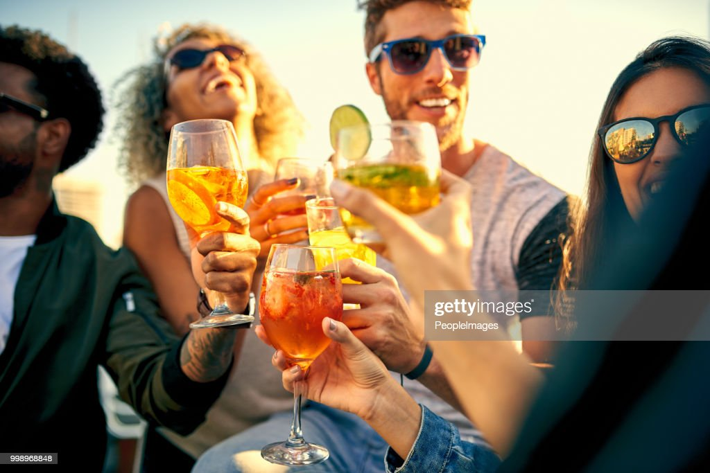 Time spent having fun is time well spent : Stock Photo