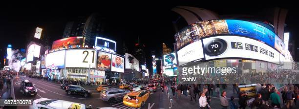 Time Square at night , New York City