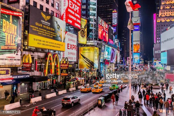 time square - times square manhattan stock pictures, royalty-free photos & images