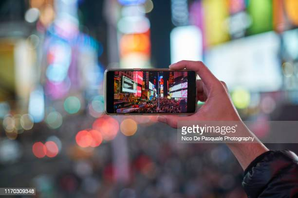 time square - photo messaging stock pictures, royalty-free photos & images