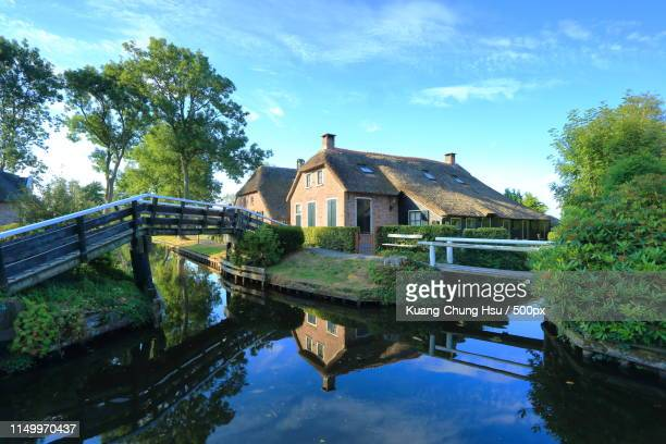 time stands still - giethoorn stock pictures, royalty-free photos & images