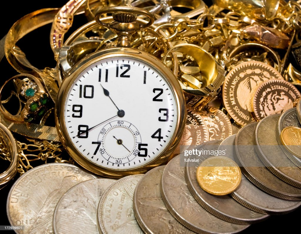 Time to Buy Gold : Stock Photo