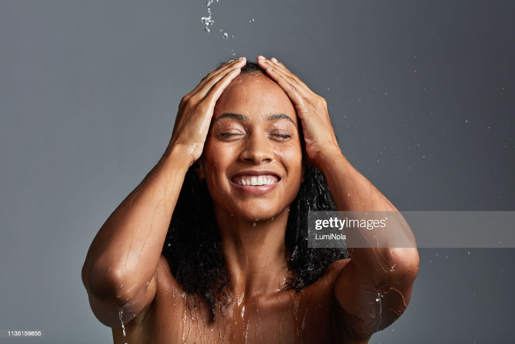 Time to freshen up : Stock Photo
