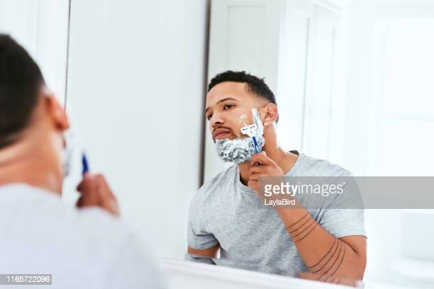 time to get rid of this beard - shaving stock pictures, royalty-free photos & images