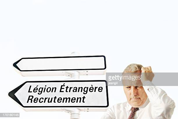 time to join the foreign legion - legion etrangere stock pictures, royalty-free photos & images
