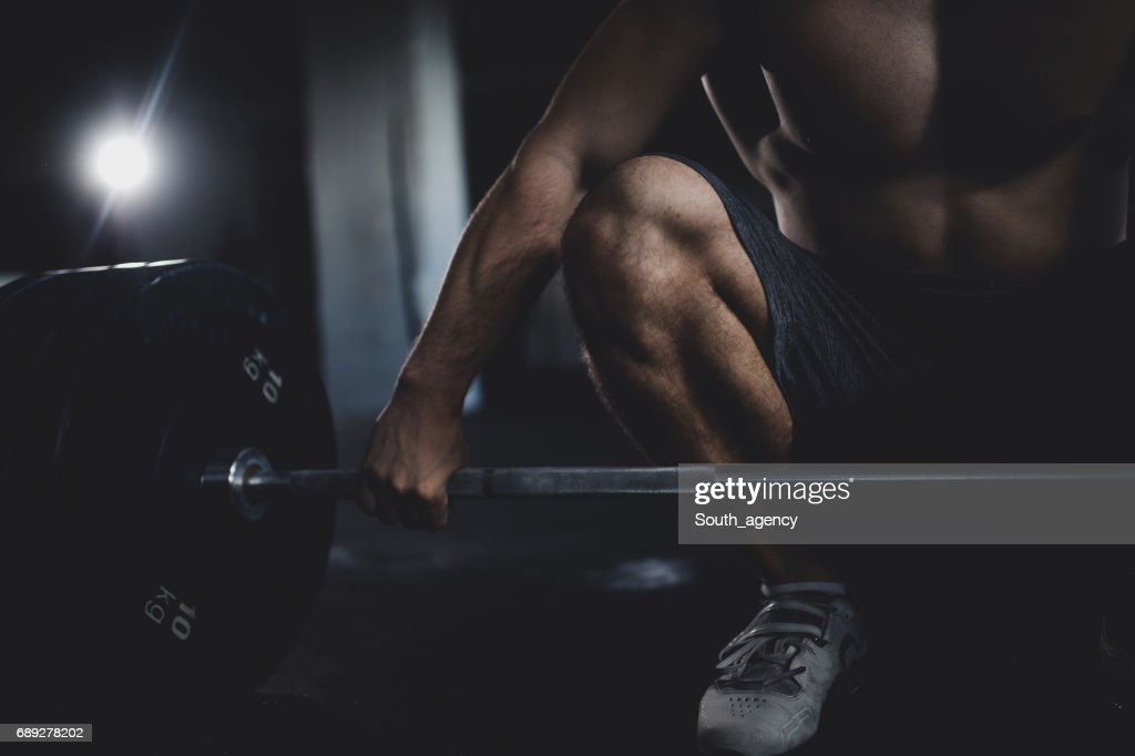 Time to lift hard : Stock Photo