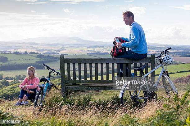 time to take a break - northumberland stock pictures, royalty-free photos & images