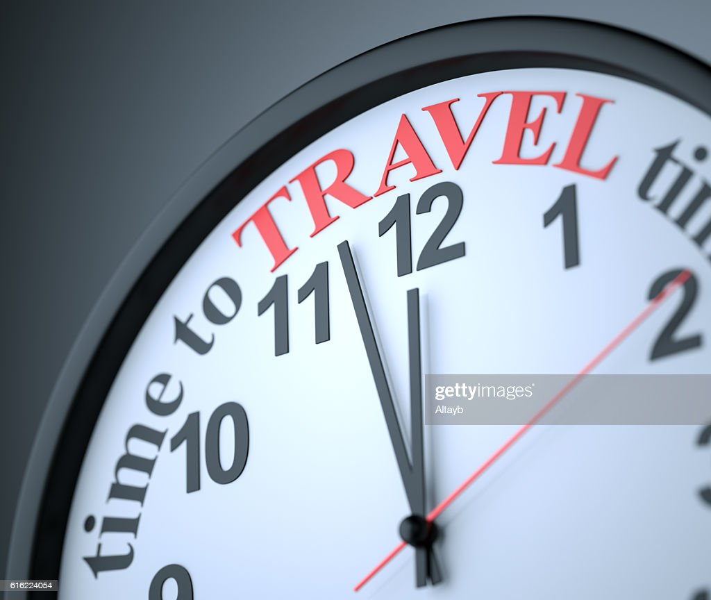 Time to Travel : Stock Photo