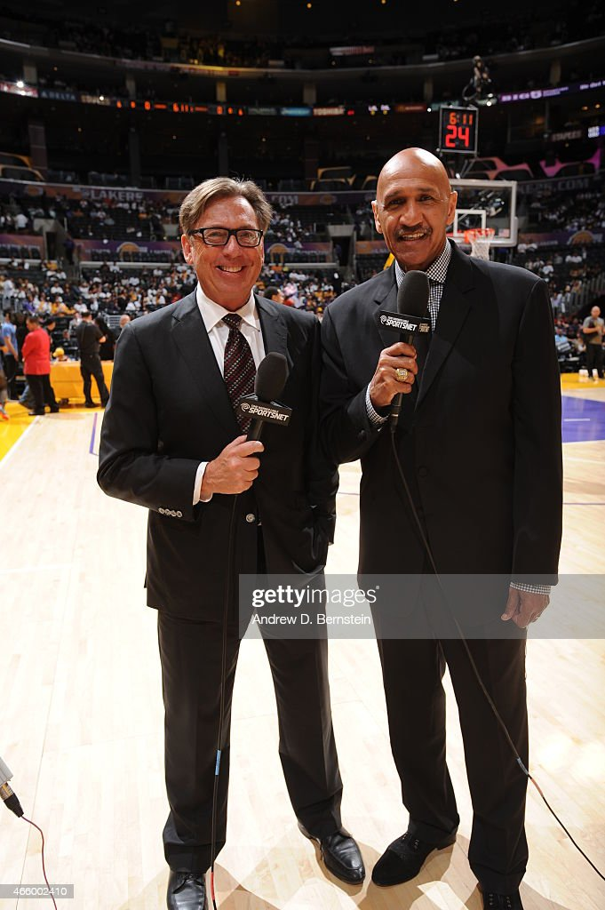 Time Warner Cable Announcers Bill Macdonald And Stu Lantz