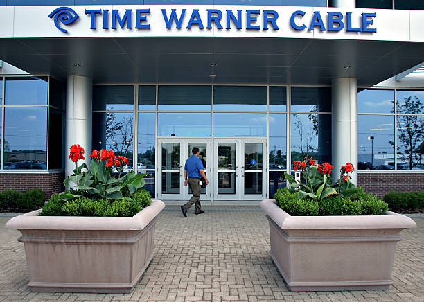 A Time Warner Cable Employee Enters The Company S Offices In
