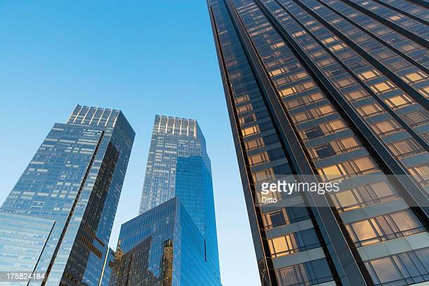 time warner center, new york city, usa - time warner center stock pictures, royalty-free photos & images