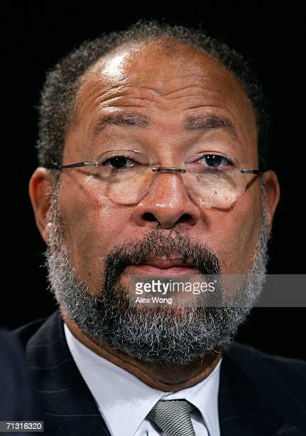 Time Warner Inc. Chairman & CEO Richard Parsons attends a news conference to announce the lead gift of $10 million for the building of the Vietnam...