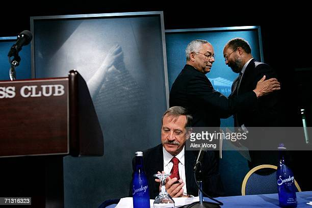 Time Warner Inc. Chairman & CEO Richard Parsons walks towards the podium after he was introduced by former Secretary of State Colin Powell as Vietnam...