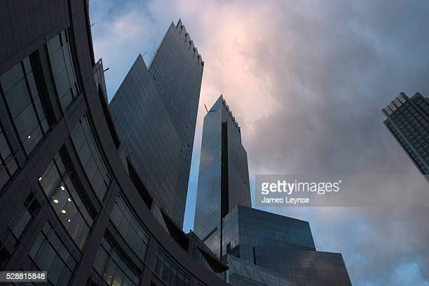 Time Warner's new headquarters an 80story structure in Manhattan's Columbus Circle is nearly complete and is now home to its first occupant the...